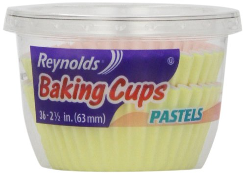 Reynolds Baking Cups, Pastels, 36 baking cups