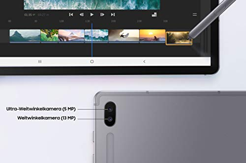 Samsung Galaxy Tab S6 T860 (10.5 Zoll) Wi-Fi, mountain grey