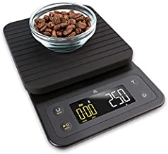 Greater Goods Digital Coffee Scale - for The Pour Over Coffee Maker   Brew Artisanal Java on a Coffee Scale with Timer   Great for French Press and General Kitchen Use   Designed in St. Louis