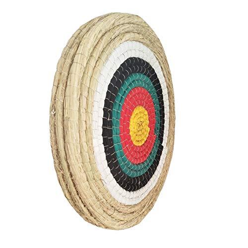 Junxing Zielscheibe 50x50 cm Traditionelles Festes Bogen-Bogenschießen-Ziel für im Freiensport-Bogenschießen-Bogen und Schießdart