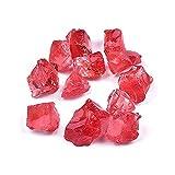 XINGTAO Piedra Rugosa 100 g/Pack Bulk Natural Satisfacción áspero Rojo Cuarto Crudo Cristal Curación Curación Reiki Chakra Espécimen Mineral Decoración de Acuario (Size : 100g)