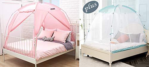 BESTEN Indoor Bed Tent and Mosquito Net Bundle Package for All Seasons...