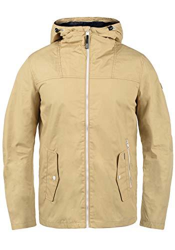 !Solid Herren Übergangsjacke Herrenjacke Jacke 21104133, Größe:L, Farbe:Curds & WH (790166)