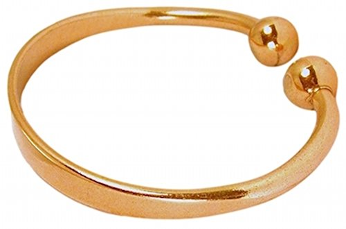 PROEXL Solid Copper Magnetic Bracelet Golfers Large 8.75 inch with Gift Box