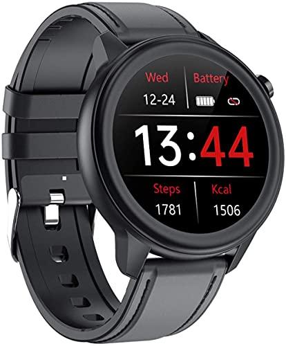 Reloj inteligente para hombre y mujer IP68 impermeable podómetro reloj inteligente con monitor de sueño para Android y LOS