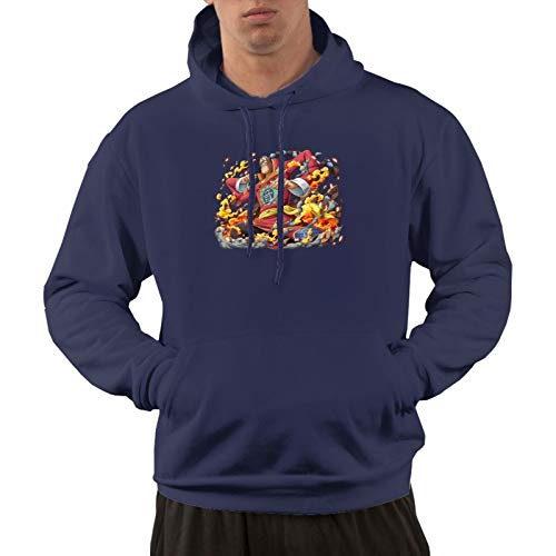 Vdaras - Sudadera con capucha para hombre, diseño de Scratchmen Apoo AKA Roar O-N-E-Piece