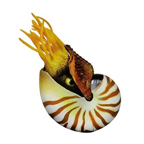Garneck Nautilus Dekor Muschel Aquarium Landschaft Aquarium Ornament Muscheln Handwerk Nautilus Figur für Aquarium Aquarium Dekoration