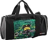 LEGO Bags LEGO Bags Sporttasche mit Nassfach, Reisetasche für Kinder, Schulsporttasche mit Lego Ninjago Motiv Bolso de Gimnasio 39 Centimeters 17 Verde (Energy)