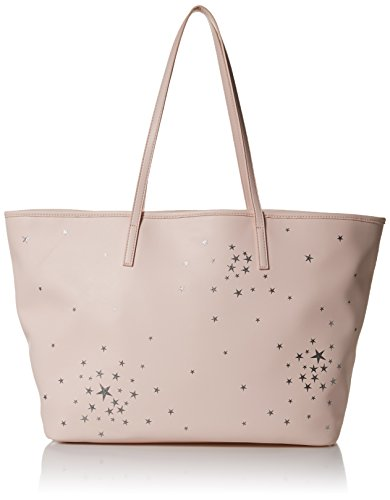 Dear Drew by Drew Barrymore on The Go Vegan Leather Celestial Tote Bag, perfect pink