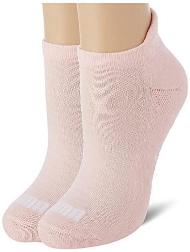 PUMA Womens Women's Sneaker Socks 2 Pack, Light pink, 39 (2er Pack)