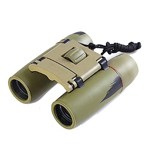 Fernglas Kompakt 30x60 Faltbares Teleskop Fernglas mit Nachtsicht bei schlechten Lichtverhältnissen für Erwachsene und Kinder Perfekt für Vogelbeobachtung, Outdoor-Jagd, Wandern, Konzerte