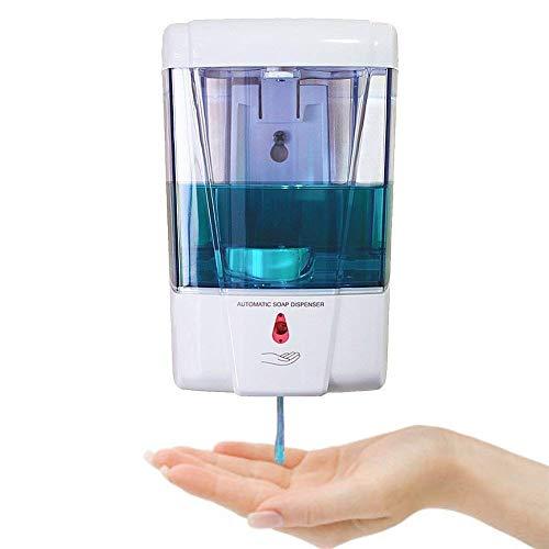 Seifenspender Automatisch, Handseifenspender Batteriebetriebene Seifenspender Sensor Wandmontage Automatische Spender Touchless Küche Seife Lotion