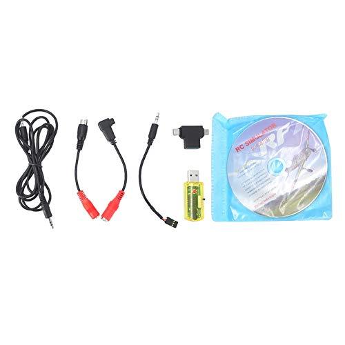 Amagogo RC Simulator 22 en 1 Cable USB para Drone