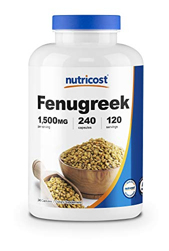 Nutricost Fenugreek Seed review