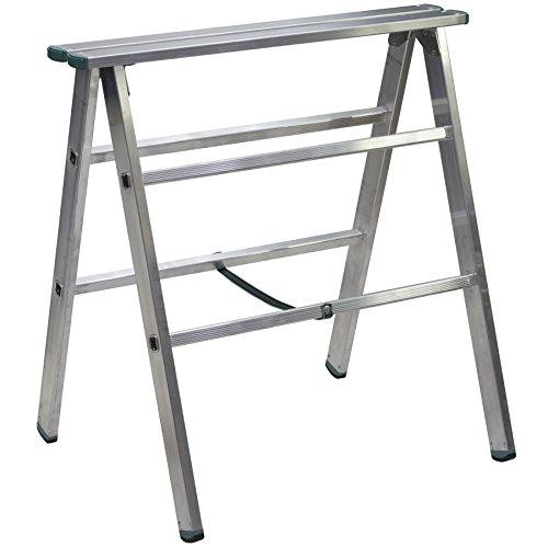 Materialständer, Arbeitsbock, Auflagenbock Aluminium - 250kg belastbar
