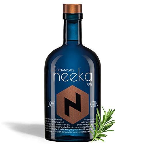 neekaPURE | Mediterraner Rosmarin-Gin | 0.5 L | Premium Dry Gin & Handcrafted in the Black Forest – Germany | 100% Gin Geschmack