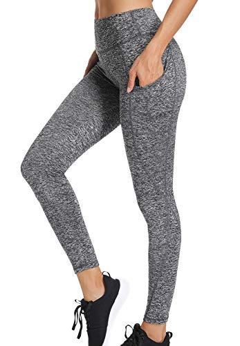 INSTINNCT Legging Yoga Femme Poches Latérales Pantalon Sport Confortable Collant d' Entraînement...