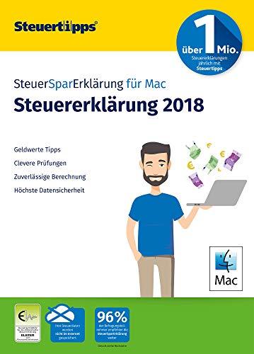 SteuerSparErklärung 2019, Schritt-für-Schritt Steuersoftware für die Steuererklärung 2018, Aktivierungscode per Mail für Mac: OS X (ab 10.11 El Capitan)