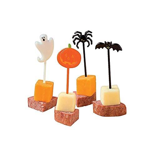 Fun Express 72 Plastic Halloween Picks FE