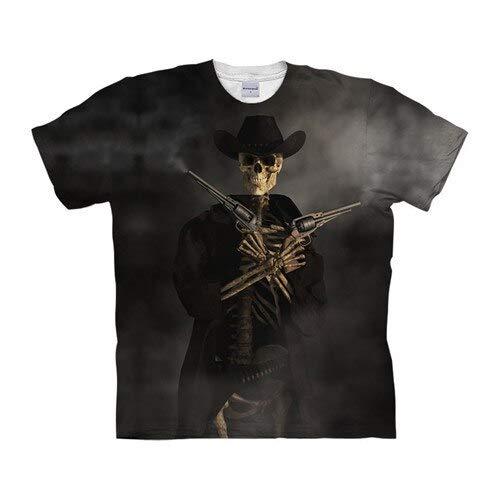 T Shirt Skull Tshirts 3D T Shirt Men T-Shirt Streatwear Tee Top Short Sleeve Hip Hop 6XL Tx1048