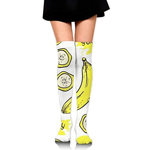Regalo de vacaciones - Calcetines altos hasta la rodilla para mujer Calentadores de pierna