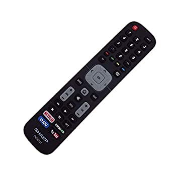 Replaced Sharp EN2A27ST TV Remote Compatible with Sharp 4K Ultra LED Smart HDTV