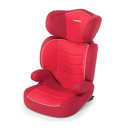 Foppapedretti - Time duoFix Silla de coche grupo 2/3 (15-36 Kg), Red