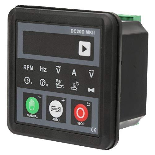 Controlador de generador, panel de control del módulo electrónico DC20D MKII para motor diesel o generador