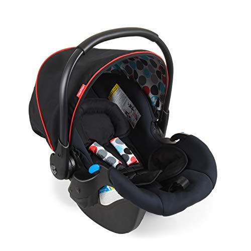 Fisher-Price - Ovetto Comfort Fix, colore: Nero