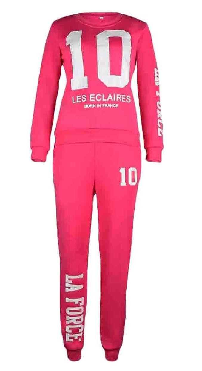 ガレージフォージ女性のスポーツ2ピースのスウェットシャツとスウィートパンツ