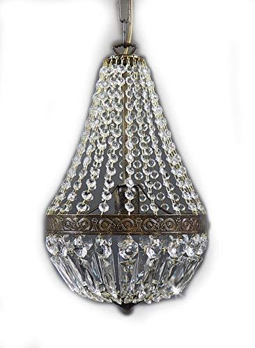 Korblüster VIENNA 1 Flammig 25cm KLEIN im Antiken Stil EXKLUSIV von PGA Lights®