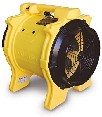 Dri-Eaz F174 Vortex Axial 1.0 HP Ventilation Fan (Color may vary)