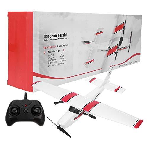 Avión RC listo para volar, divertido avión de control remoto para niños, helicóptero, modelo de juguete para niños, avión RC, avión, vuelo al aire libre, juguetes para principiantes, niños y a