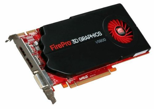 AMD 100-505605 FirePro V5800 1GB GDDR5 - Tarjeta grfica (FirePro V5800, 1 GB,...