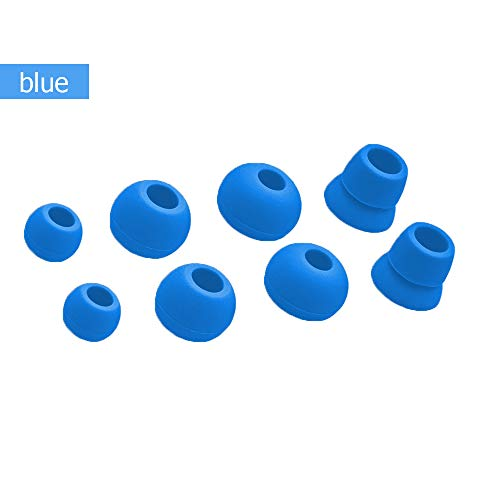 XiYu1 Set Of Replacement Earbuds Tips Eartips For Beats PowerBeats 1.0 2.0 3.0 Wireless In-ear Headphone (Blue)