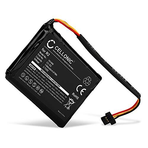 CELLONIC® Batería Premium Compatible con Tomtom Pro 4000, XXL 340 (1100mAh) 4EG0.001.08, 6027A0090721, FLB0920012619, FMB0829021142, R2 bateria de Repuesto, Pila reemplazo, sustitución