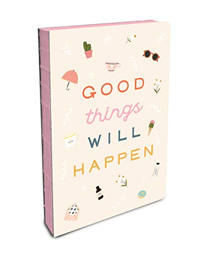 Studio Oh! Compact Coptic-Bound Journal, Good Things Will Happen (CC009)