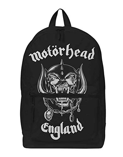 Motorhead Backpack Bag England Warpig Band Logo New Officieel Rocksax