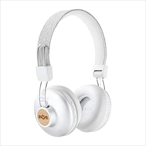 Marley Positive Vibrations 2 Wireless Bluetooth On-Ear Headphones - Recycled Material, Sustainably Sourced, Supporting Global Reforestation, T3 Platinum & Best on Test Award - Signature Black