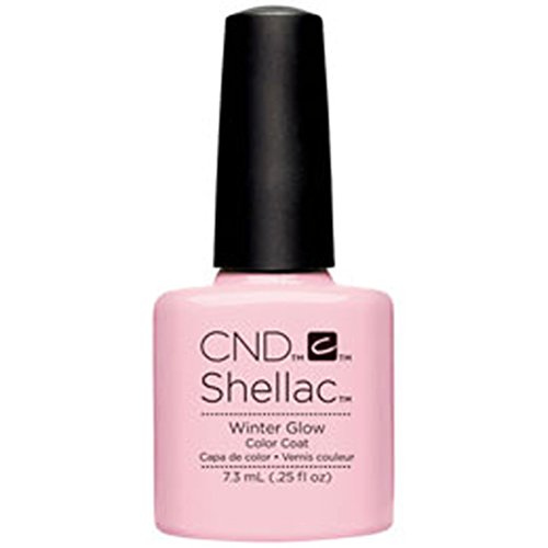 CND Shellac Winter Glow, 1er Pack (1 x 7 ml)