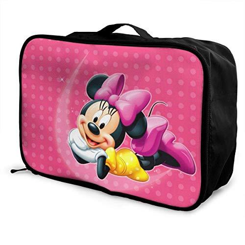 Bolsa de viaje para ratón, plegable, impermeable, ligera, portátil, de alta capacidad, para llevar en Lage