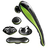 Wahl Lithium Ion Deep Tissue Cordless Percussion Therapeutic Handheld Massager for Muscle, Back, Neck, Shoulder, Full Body Pain Relief – Use at Home, Car, Office, or Travel, Green – Model 4232-200