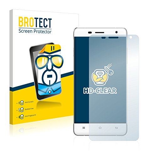 BROTECT Schutzfolie kompatibel mit Oukitel K4000 Pro (2 Stück) klare Bildschirmschutz-Folie