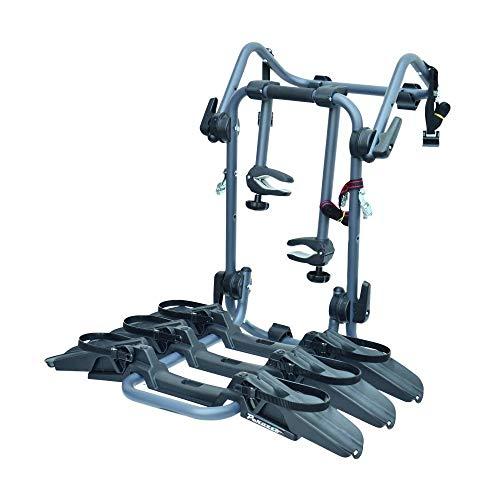 Motodak fietsendrager, kofferbakmerk, voor 3 fietsen met ruimte (max. 45 kg), compatibel met 29 inch