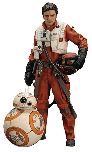 Close Up Star Wars Episode 7 Statue Poe Dameron & BB-8 ARTFX+