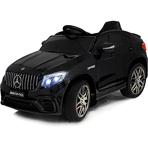 12V Kids Electric Car - Big Ride On Car with Remote Control - Licensed Toy Truck with MP3 Music,...