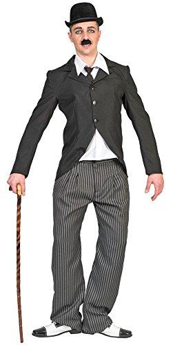 Pierro´s Karnevalshop Herren Kostüm Charlie Chaplin - Gr. 48 50