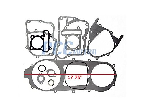 3Z GASKET SET GY6 157QMJ 150cc LONG CASE ENGINE MOPED SCOOTER ATV GS02
