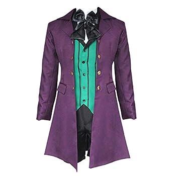 Anime Black Butler Cosplay Costumes Alois Trancy Vampire Uniforms Halloween Carnival Party  XL