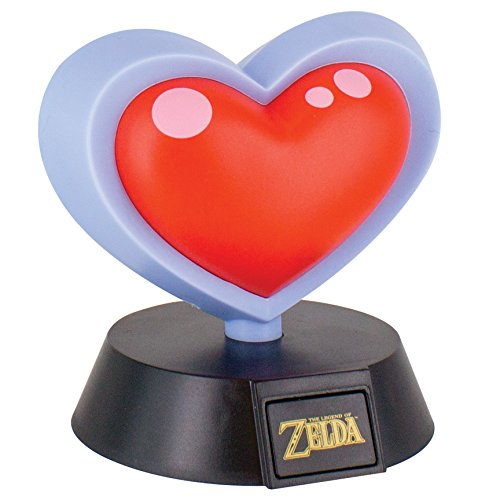 ZELDA - Corazón 3D Mini Luz- 10 cm